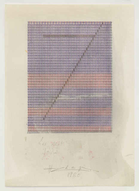 , 'Les Sept Jours,' 1980, Jane Lombard Gallery