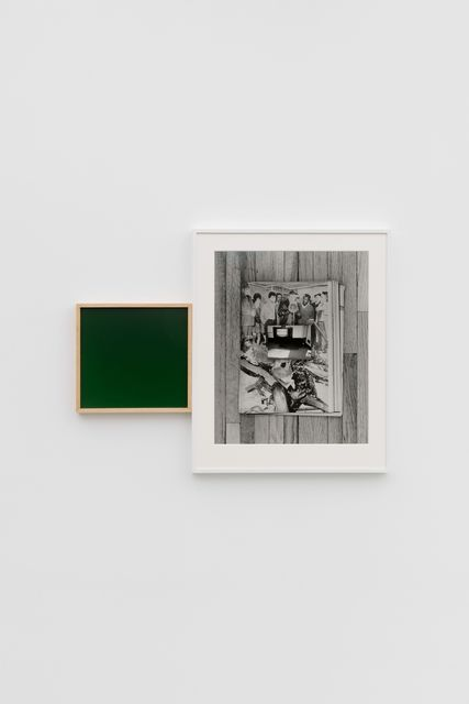 Leslie Hewitt, 'Riffs on Real Time with Ground (Nightshade),', 2018, Photography, Digital chromogenic print, silver gelatin print, Perrotin