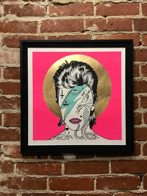 , 'Bowie,' 2018, Mason-Nordgauer Fine Arts Gallery