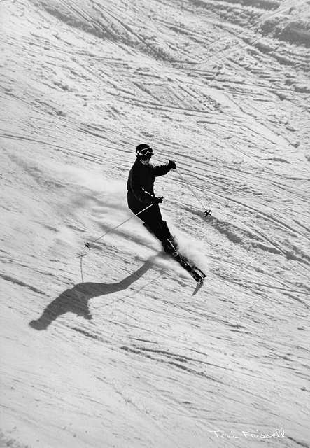 Toni Frissell, 'Toni Frissell  Ann Taylor, Vail, Colorado', ca. 1960s, Photography, Gelatin Silver Print, Staley-Wise Gallery