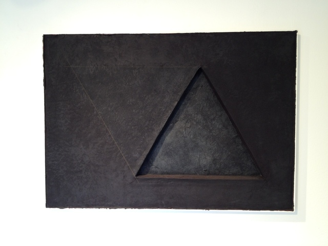 , 'Two Triangles No. 5,' 1982, Bellas Artes Gallery