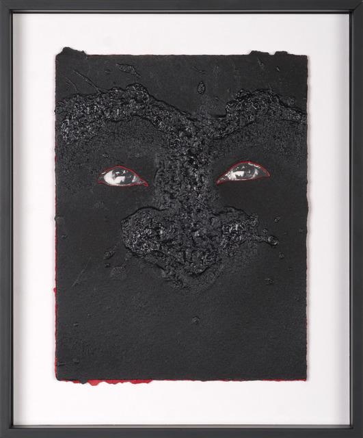 Scott Vincent Campbell, 'Not Good But Well Behaved (Prayer Card #18)', 2016, M Contemporary Art