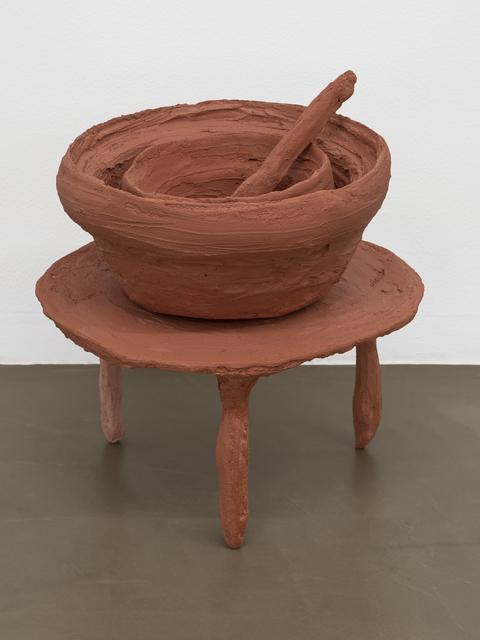 Oren Pinhassi, 'Nude I', 2018, Sculpture, Steel, plastic, plaster, sand, pigment, burlap, Ribot