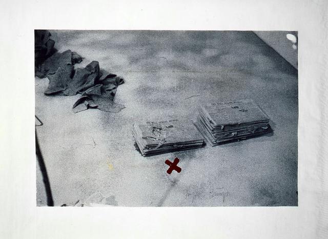 , 'unbetitelt (Neues vom Kojoten),' 1980, Galerie Klüser