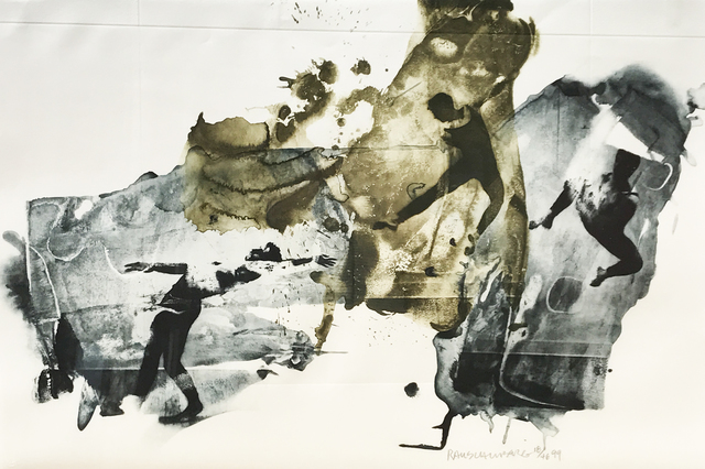 Robert Rauschenberg, 'Ace', 1999, Print, Intaglio, Eckert Fine Art