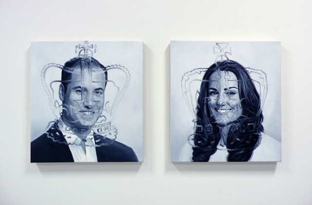 , 'MEETING WILL & KATE  from the series THE INABILITY OF MEETING SOMEONE FAMOUS OBJECTIVELY,' 2013, ART 3
