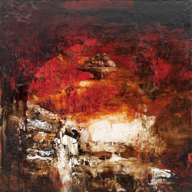 , 'First Red Vanitas,' 2013, Galerie de Bellefeuille
