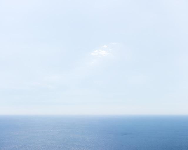, 'Blue Horizon with Cloud, Capri,' 2016, Ille Arts