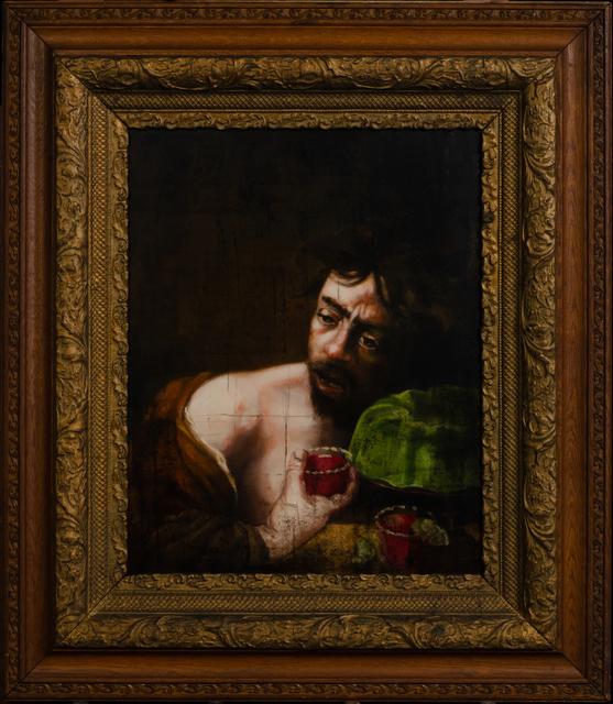 , 'Caravaggio Died of the Jello Fever,' 2019, The Secret Gallery