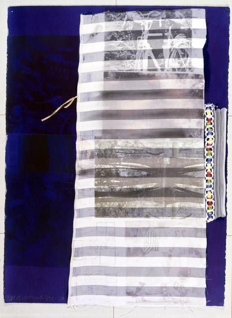 , 'Indigo Roll,' 1978, Galeria Luisa Strina