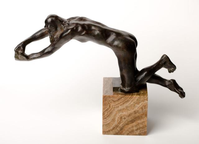 , 'Vieillard suppliant, version à genoux ,' c 1886 (1910-1920), Galería Daniel Cardani