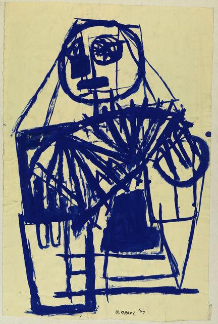 , 'Le Joueur d'Harmonica ,' 1947, Centre Pompidou