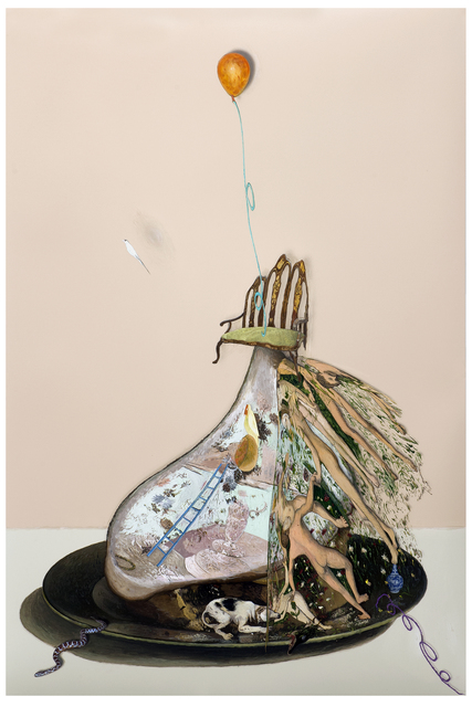 , 'no title,' 2014, Galerie Valentien