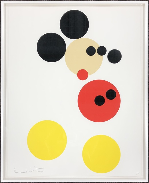 Damien Hirst, 'Mickey', 2014, Lougher Contemporary