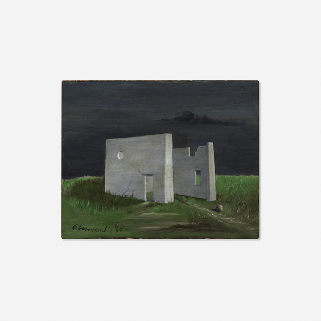 Gertrude Abercrombie, 'Walls', 1964, Wright
