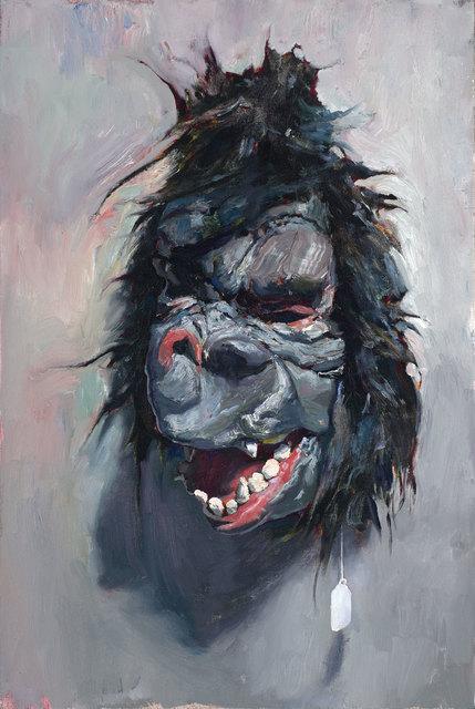 , 'Gorilla Mask Study,' 2018, ARCADIA CONTEMPORARY