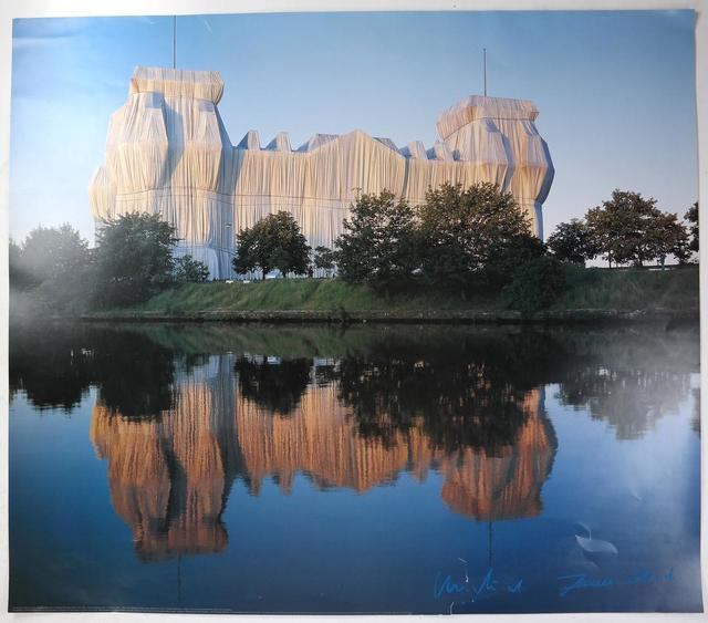 """Christo and Jeanne-Claude, '""""Wrapped Reichstag"""" Project, Offset Color Lithographic Poster LARGE', 1995, VINCE fine arts/ephemera"""