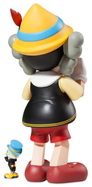 KAWS, 'Pinocchio and Jiminy Cricket', 2010, Sculpture, Vinyl, Dope! Gallery