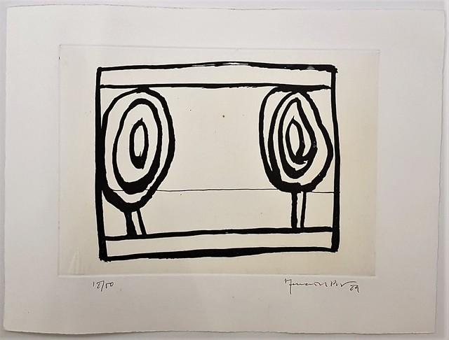 , 'Arbres,' 1989, Cerbera Gallery