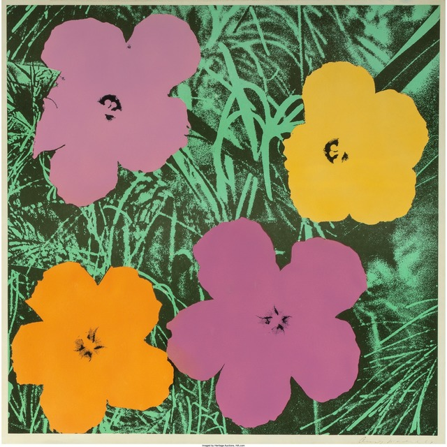 Andy Warhol, 'Flowers', 1964, Print, Offset lithograph in colors, Heritage Auctions