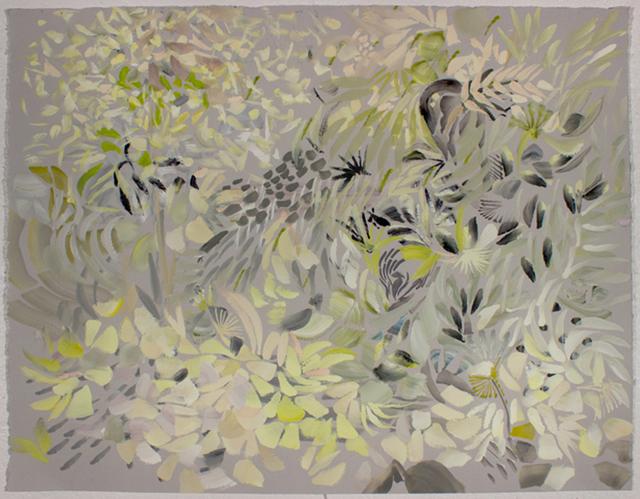 , 'Grey Thicket,' 2017, Linda Hodges Gallery