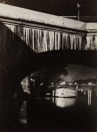 Brassaï, 'The Seine at Night,' ca. 1932, Phillips: The Odyssey of Collecting