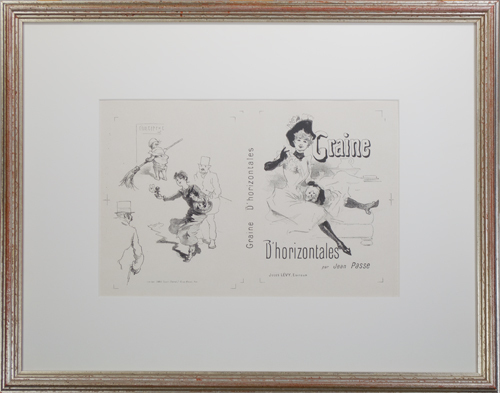 , 'Graine D'horizontales,' ca. 1890, David Barnett Gallery