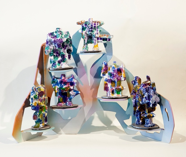 , 'Small Robot Shelf,' 2015, Nancy Hoffman Gallery