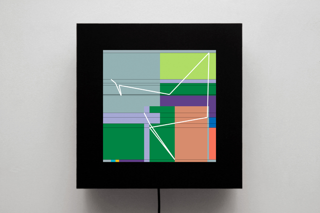 , 'P1622-H,' 2012-2013, bitforms gallery