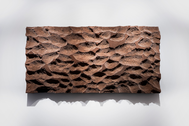 Michal Fargo, 'Soft Topography Wall Sculpture', 2020, Sculpture, Carved treated foam, flocked with synthetic fibers., Sage Culture
