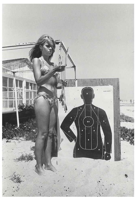 Dennis Hopper, 'Jane Fonda (with target)', 1965, UTA Artist Space
