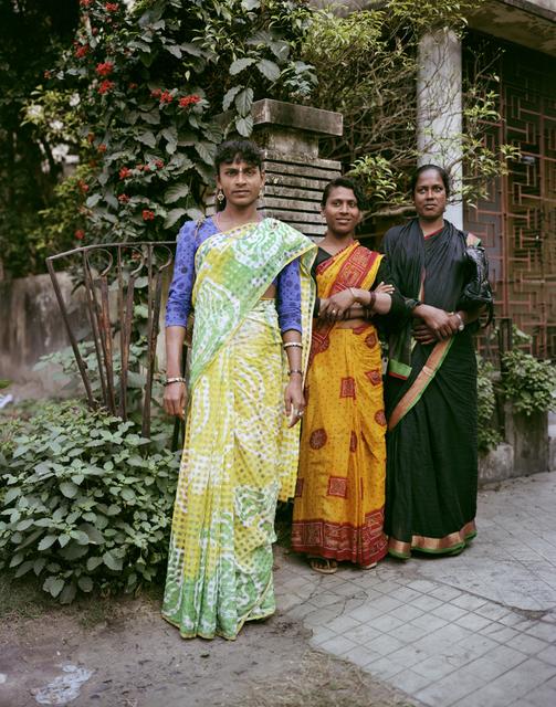 , 'Miss Kajeel, Miss Rena, Miss Chandham, Transgender Dancing Girls, Jodhpur Park, Kolkata,' 1998, Benrubi Gallery