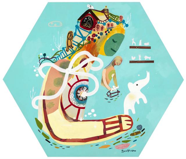 , 'Grandma's Elephant,' 2013, Jonathan LeVine Projects