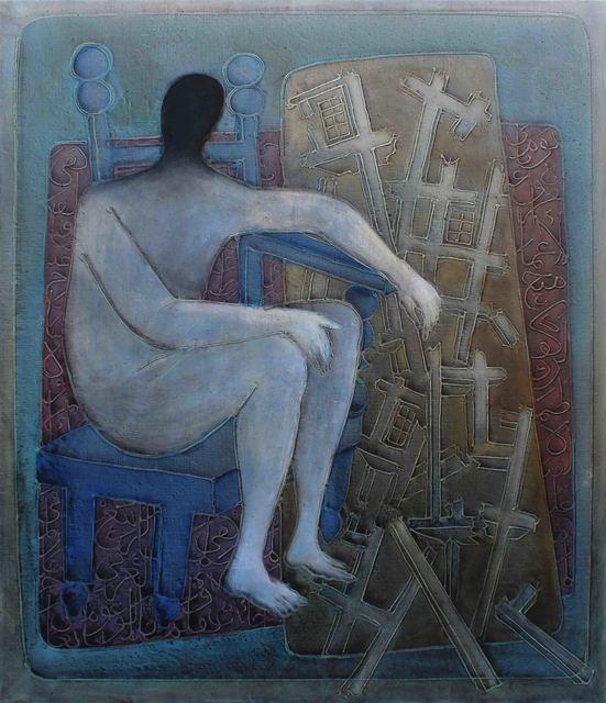 , 'Discourse of Silence 6,' 2017, al markhiya gallery