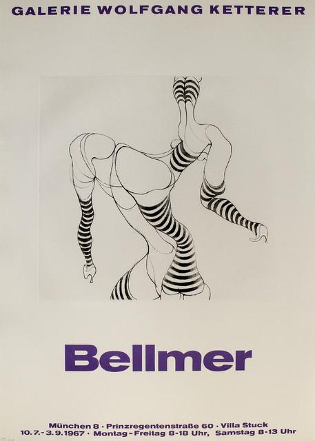 Hans Bellmer, 'Liegende in Strümpfen', 1967, Sylvan Cole Gallery