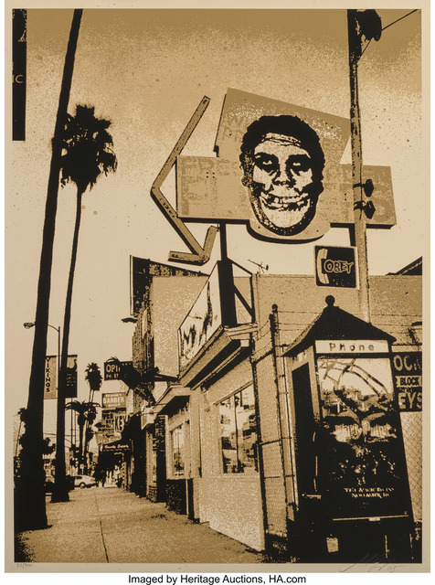 Shepard Fairey (OBEY), 'Obey Fiend Skull', 2005, Heritage Auctions
