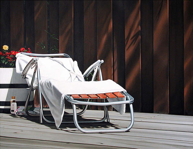 Guy Diehl, 'Deck Lounge with White Towel', 1982, Dolby Chadwick Gallery