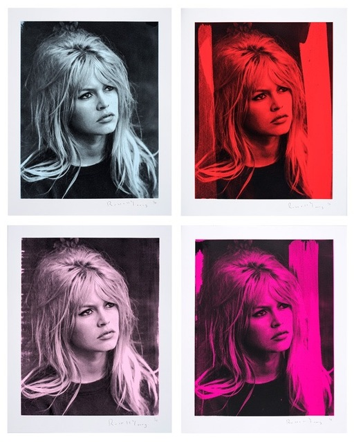 , 'Bardot Portfolio by Russell Young (set of 4) Boxed,' 2017, Art Angels