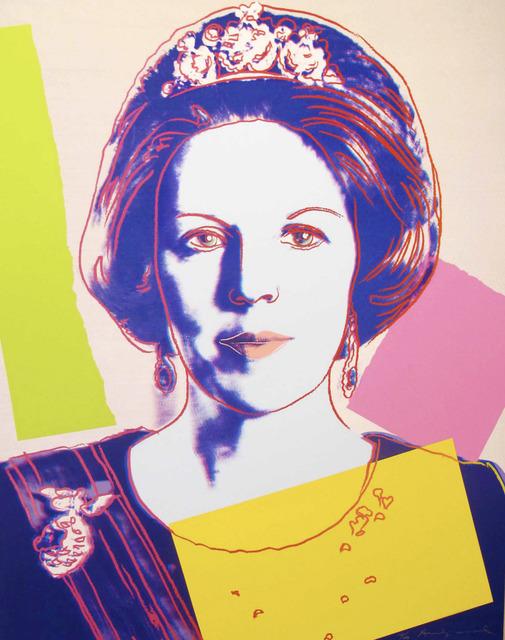 Andy Warhol, 'Queen Beatrix Of The Netherlands II.340', 1985, Zeit Contemporary Art