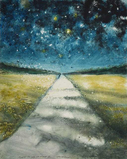 , 'Road to the Sky at Night I,' 2018, Marlborough Gallery