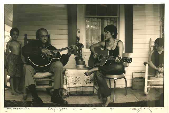 , 'Johnny and Rosanne Cash, Carter Family Fold, Virginia,' 2001, Be-hold
