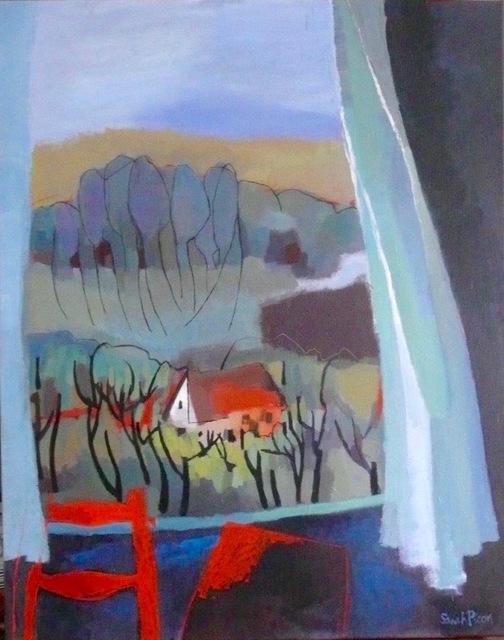, 'Grande Fenêtre à Conflans,' 2017, Susan Eley Fine Art