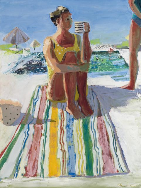 , 'Striped Towel,' 2017, Patricia Rovzar Gallery