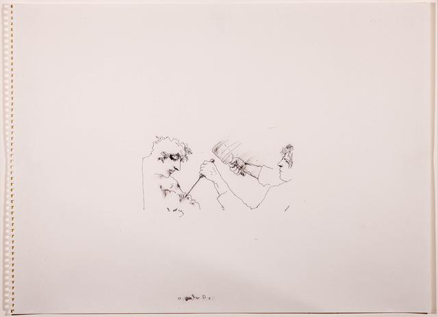 , 'Untitled (chiseling),' 2013, Rosamund Felsen Gallery