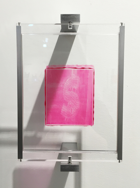 , 'Woodburytype Print of Study Plate 6 - After party (pink),' 2015, TJ Boulting