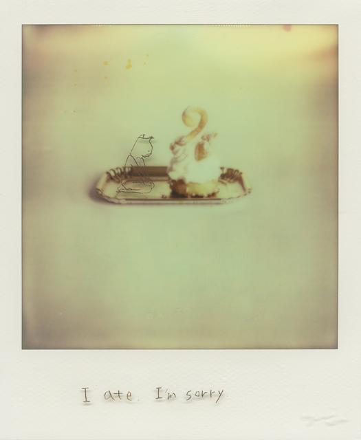 , 'In my territory: I ate. I'm sorry.,' 2014, Micheko Galerie
