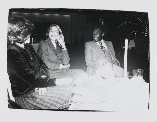 Andy Warhol, 'Andy Warhol, Photograph of Jerry Hall and Pelé, 1980', 1980, Hedges Projects