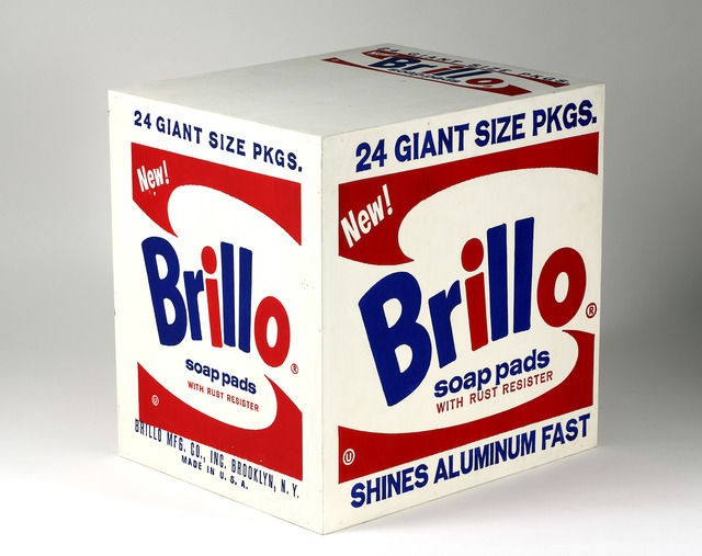 , 'Brillo Soap Pads Box ,' 1964, National Gallery of Victoria