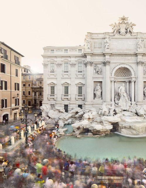 David Burdeny, 'Fontana di Trevi, Rome, Italy', 2018, Photography, Archival Pigment Print, CHROMA GALLERY
