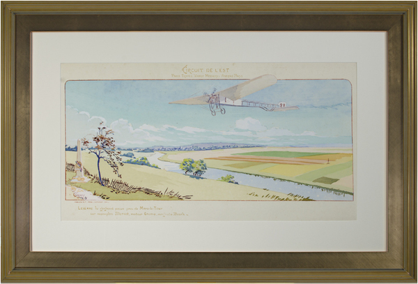 Marguerite Montaut (GAMY), 'Circuit De L'Est', 1910, David Barnett Gallery
